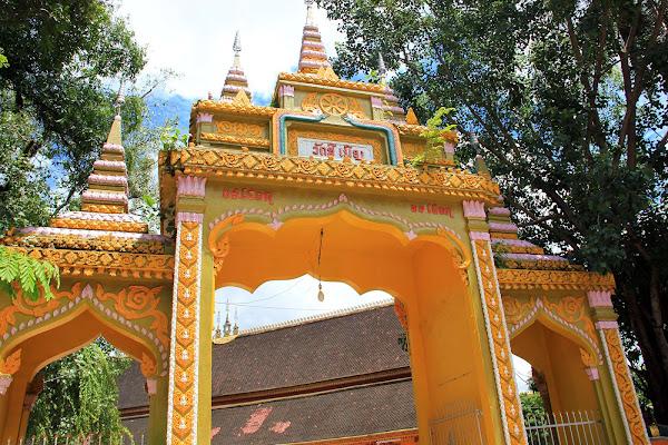 L'accesso al tempio Wat Si Muang
