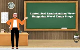Contoh Soal Pendiskontoan Wesel Bunga dan Wesel Tanpa Bunga