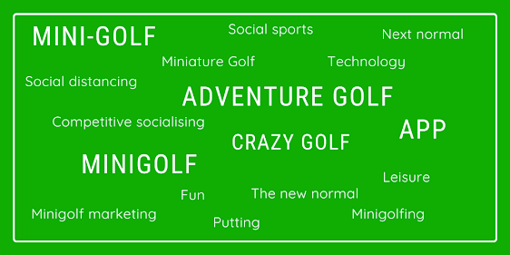 A look at how minigolf will be played after lockdown