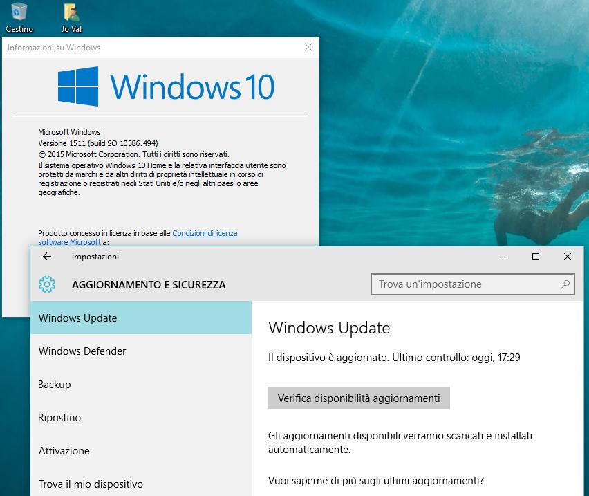 Windows 10 Anniversary Update Istruzioni HTNovo