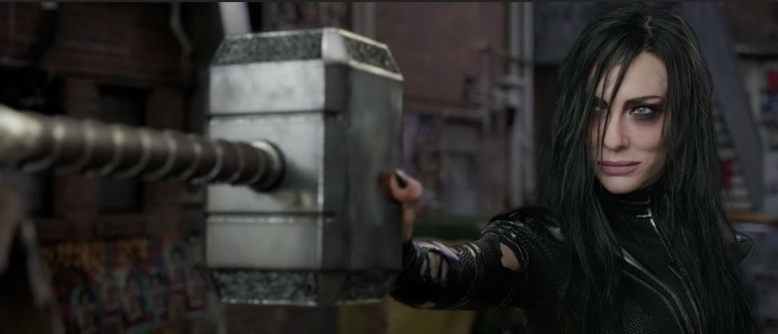 Cate Blanchett as Hela in 'Thor: Raganarok'