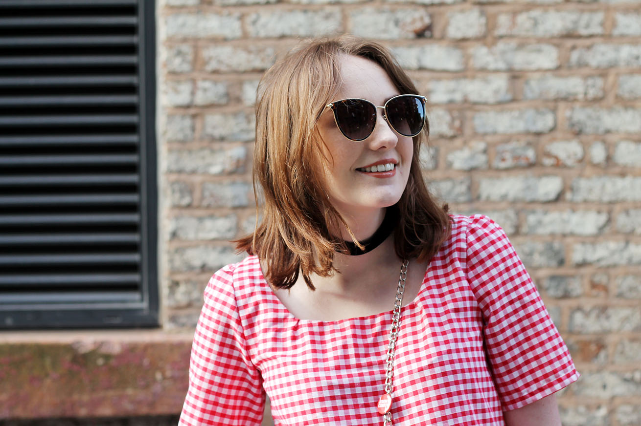 Liverpool fashion blogger with SS17 trends: gingham