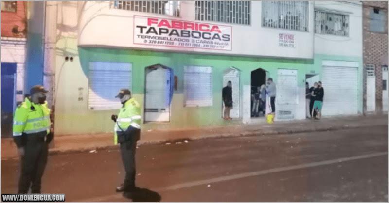 Dos venezolanos heridos en Bogotá por una explosión en una pelea entre pandillas