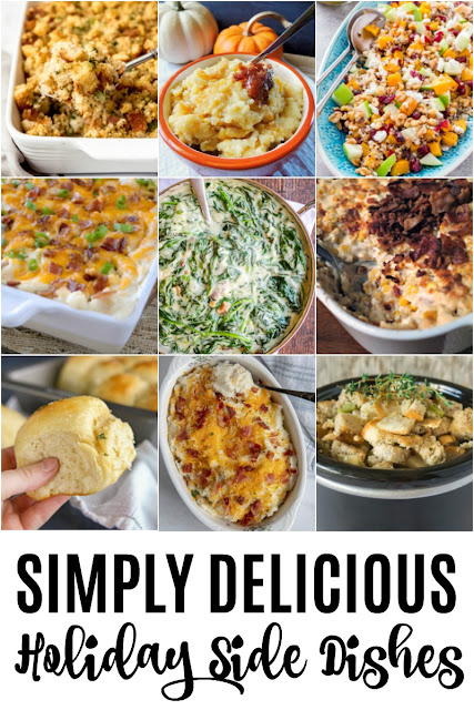 Planning that holiday dinner menu? Be sure to add some of these 9 Simply Delicious Holiday Side Dishes!