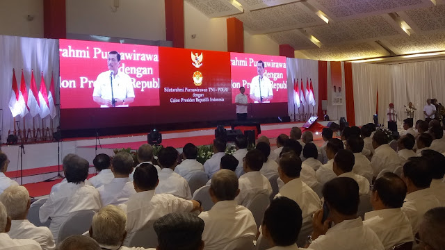 Luhut Sebut Jokowi Salah Jurusan, Harusnya Dulu Masuk Kopassus