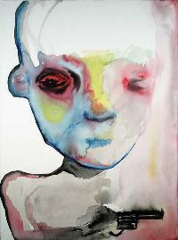 Trainables, pintura de Marilyn Manson.