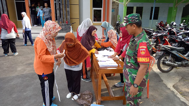 Kampanye Germas Dan Gema Cermat Di Balai Desa Sambirembe