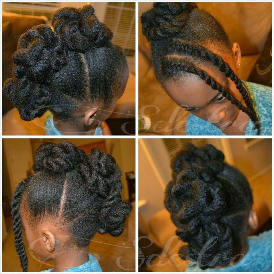 Enjoyable Sdestra Twisted Frohawk On Madimel39S Natural Hair Mohawk Fauxhawk Short Hairstyles Gunalazisus