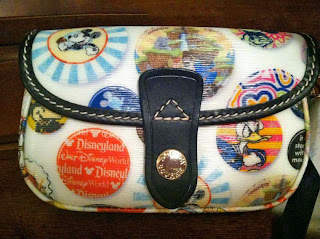 Disney Parks Buttons Mickey Mouse Wristlet Bag by Dooney & Bourke Giveaway