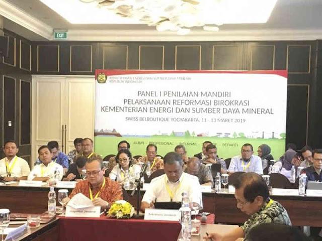 Kementerian ESDM Dorong Gerakan Massal Reformasi Birokrasi di Seluruh Unit Kerja