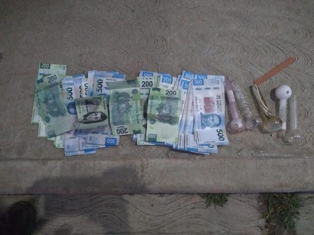 Detiene SSP a una en posesión de 49 mil pesos en billetes falsos