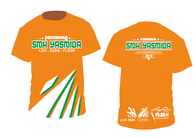 Desain Kaos Pembimbing LKS SMK Yasmida Ambarawa