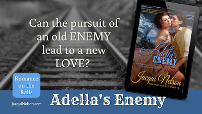 Can the pursuit of an old enemy lead to a new love?