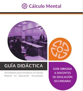 Actividades para fortalecer el Cálculo Mental en Educación Secundaria