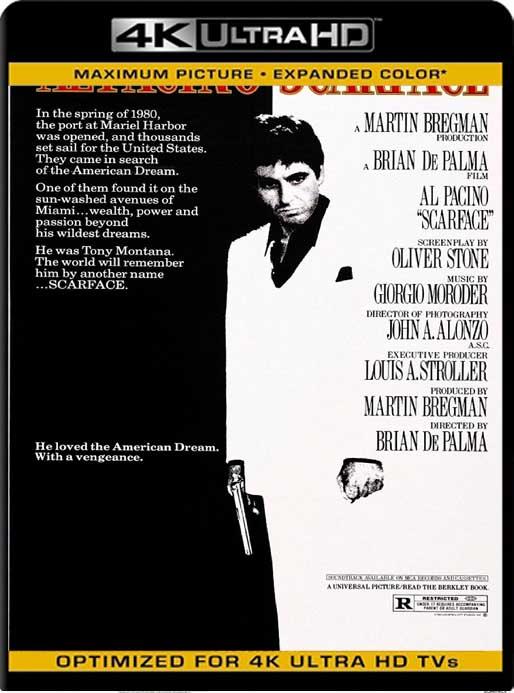 Caracortada (Scarface) (1983)4K 2160p UHD Latino [GoogleDrive]
