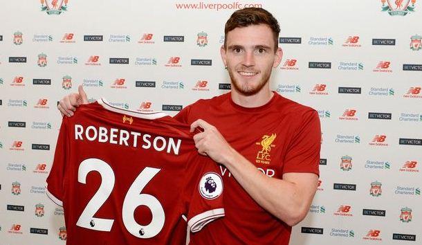 Liverpool Datangkan Andy Robertson dari Hull City