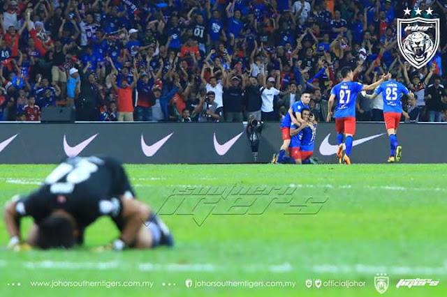 Tahniah JDT Juara Piala Malaysia 2017, Kedah Terlepas Trofi Ke-3 Musim Ini!