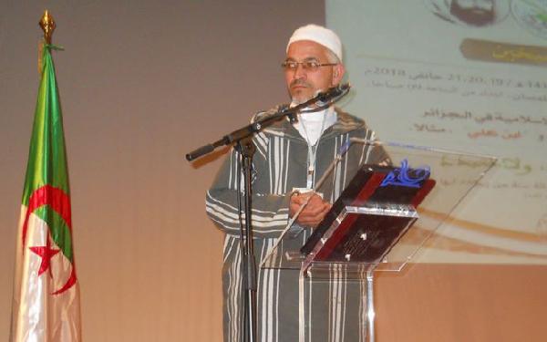 """الشيخ قدور قرناش : """"الجمعية ستدرس بكل روية  ما جاء من مقترحات في مسودة تعديل الدستور"""""""