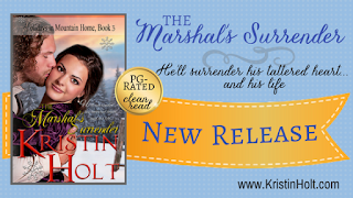 Kristin Holt | The Marshal's Surrender (hero named August)