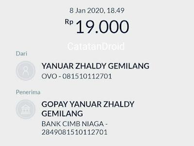 Cara Transfer Uang Saldo dari OVO dan ATM ke GoPay