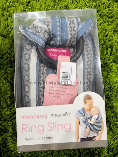 Bohemian Print Baby Ring Sling Mamaway