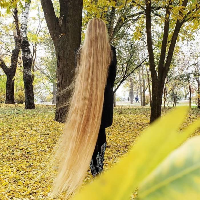 Rapunzel of the Modern World, Real life Rapunzel hair,