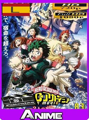 My Hero Academia: Two Heroes (2018) HD [720P] latino [GoogleDrive]