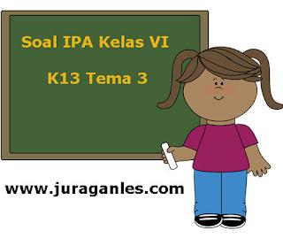 Contoh Latihan Soal IPA Kelas 6 Semester 1 K13 Terbaru