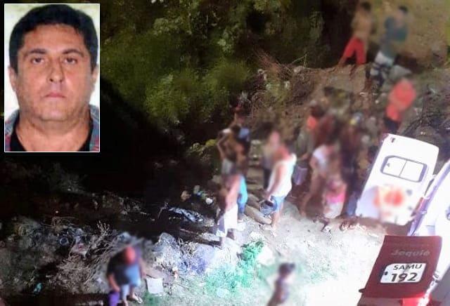 Homem morre ao pular de ponte para não ser atropelado na BR-116