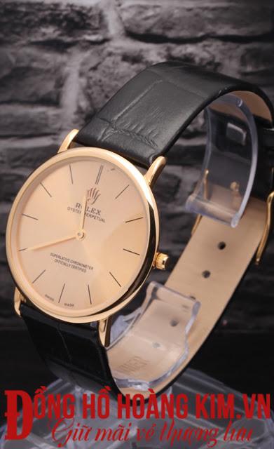 Đồng hồ nam dây da giá dưới 1 triệu