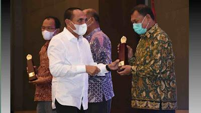 Kabupaten Deli Serdang Berhasil Raih Terbaik 1 Penghargaan Pembangunan Daerah (PPD) Tahun 2021