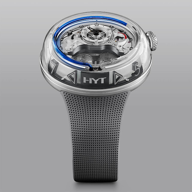 HYT Watches H5 Blue Fluid H02352