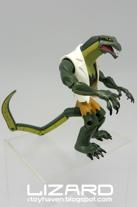 Spectacular spider man lizard