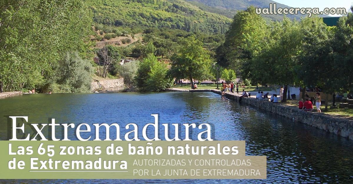 Valle del jerte valle cereza las 65 zonas de ba o for Piscinas naturales extremadura