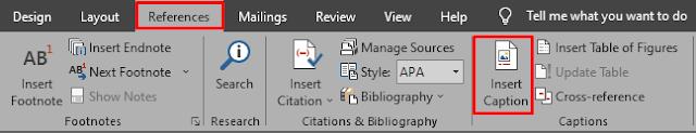 Cara Menyisipkan Keterangan Pada Gambar di Microsoft Word
