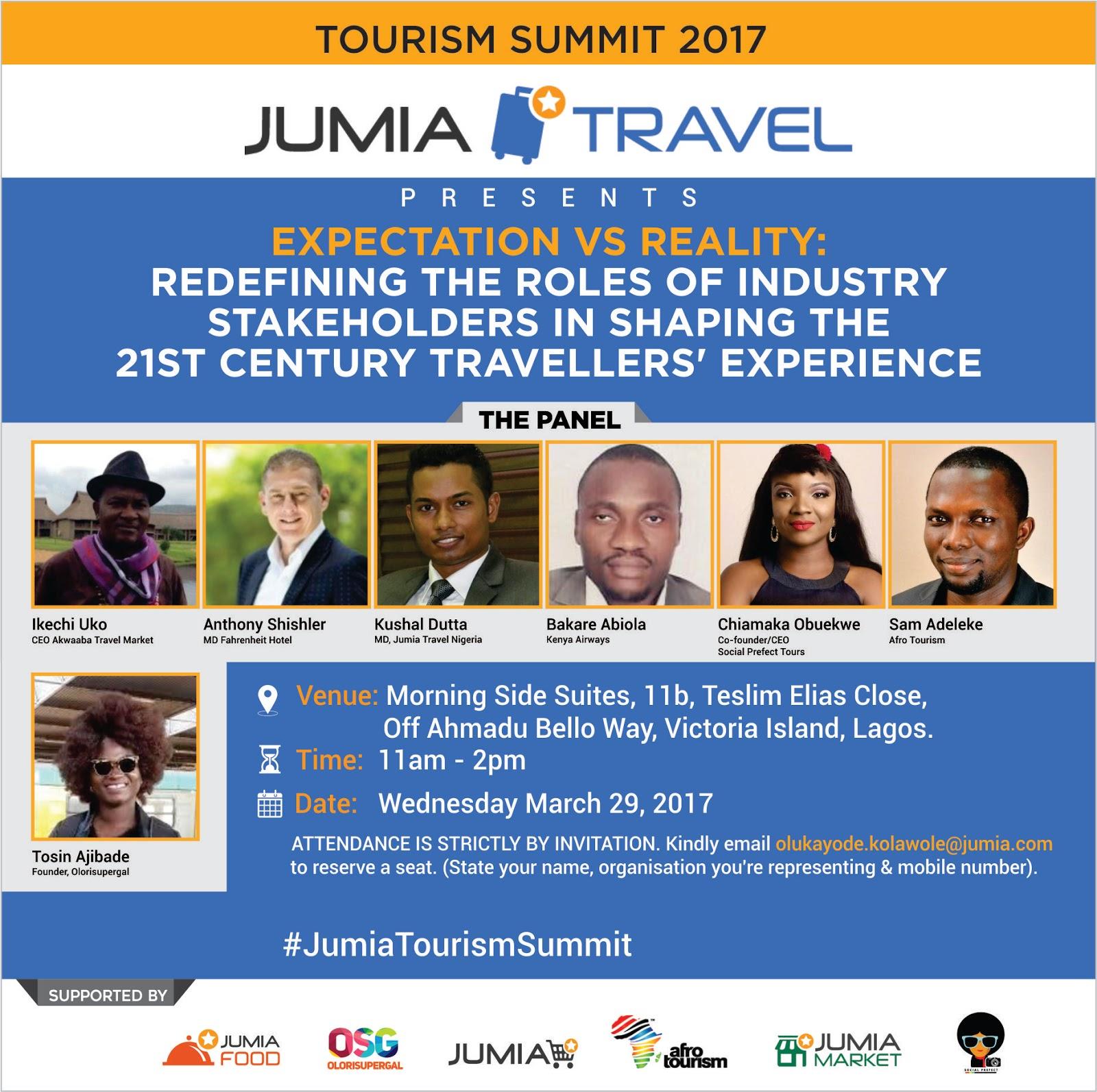 Travel Agents Host Agency: Icemagazine: Jumia Travel Set To Host Tourism Summit