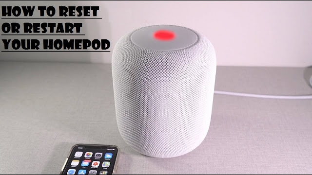 How to Reset or Restart Your HomePod
