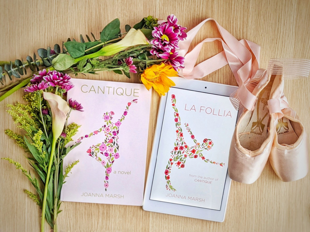 Two adult ballet novels: Cantique and La Follia.