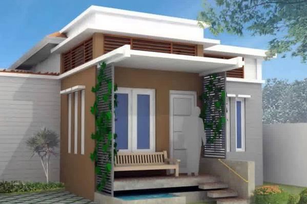Desain Rumah Minimalis Ukuran 7x14  contoh denah rumah minimalis dan gambar rumah minimalis