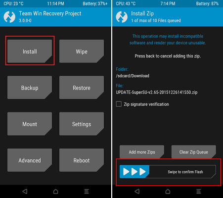 Cara Root Samsung Galaxy S6 Edge dan Install TWRP Galaxy S6 Edge (Nougat)