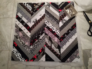 prepare quilt for sewing craftrebella