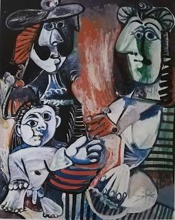 Семья, 1970 Пикассо