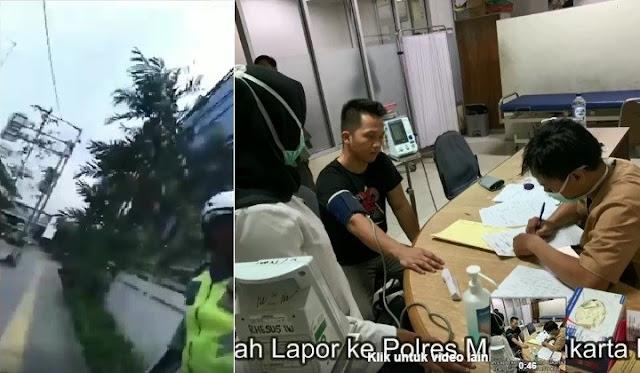 Heboh Video Polisi Pukul Warga karena Tak Terima Direkam Saat Menilang