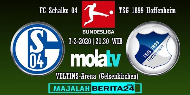 Prediksi Schalke 04 vs TSG Hoffenheim