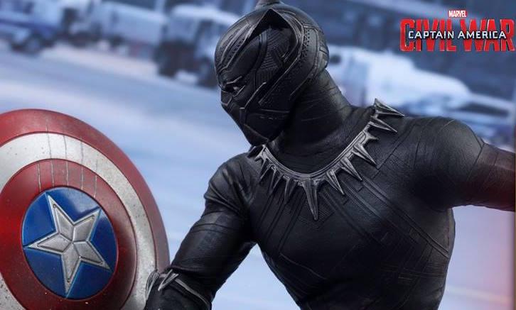 Hot Toys\u0027 Premium Black Panther CAPTAIN AMERICA CIVIL WAR Figure is Your  Best Look at His Full Suit