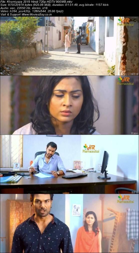 Khamiyaza 2019 Hindi 720p HDTV 900MB