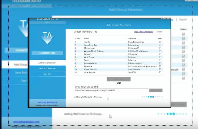 Telegram Auto v2.17.3 Cracked