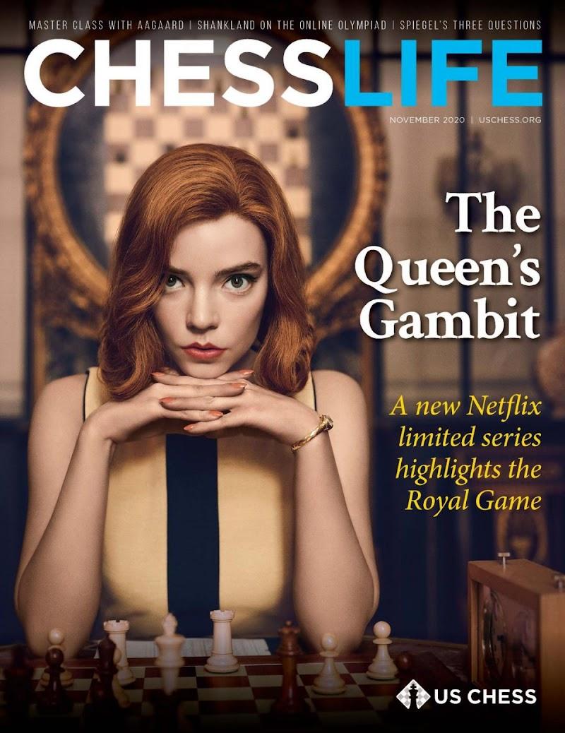 Anya Taylor-Joy Clicked for Chess Life 2020