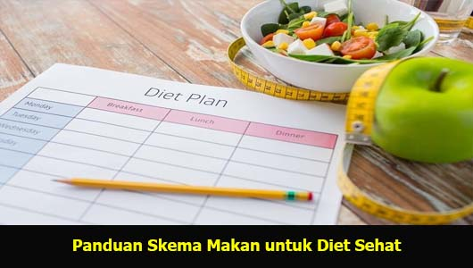 Panduan Skema Makan untuk Diet Sehat