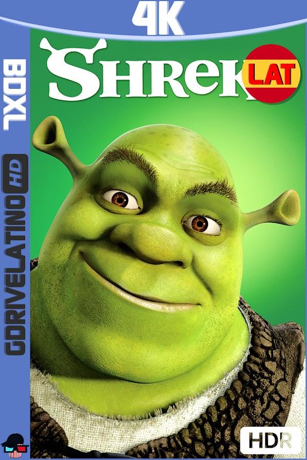 Shrek (2001) BDXL 4K UHD HDR Latino-Ingles ISO